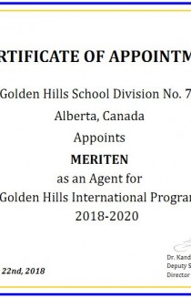 Golden Hills School Division 75