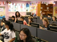 Computer room, senior school (12-16 years)
