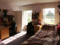 Typical double bedroom, senior school (12-16 years)